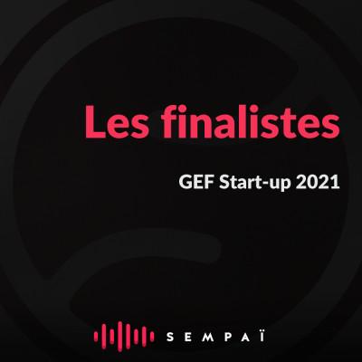 Les finalistes de GEF-Startup 2021 (7e édition) cover