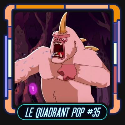 Le Quadrant Pop #35 - Star Trek Lower Decks (S2 Ep04 & Ep05) cover