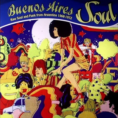 Micros & sillons 3 // 8 - BUENOS AIRES SOUL - Jumbo cover