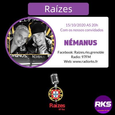 RAIZES - Emission du 15/10/2020 avec Némanus cover