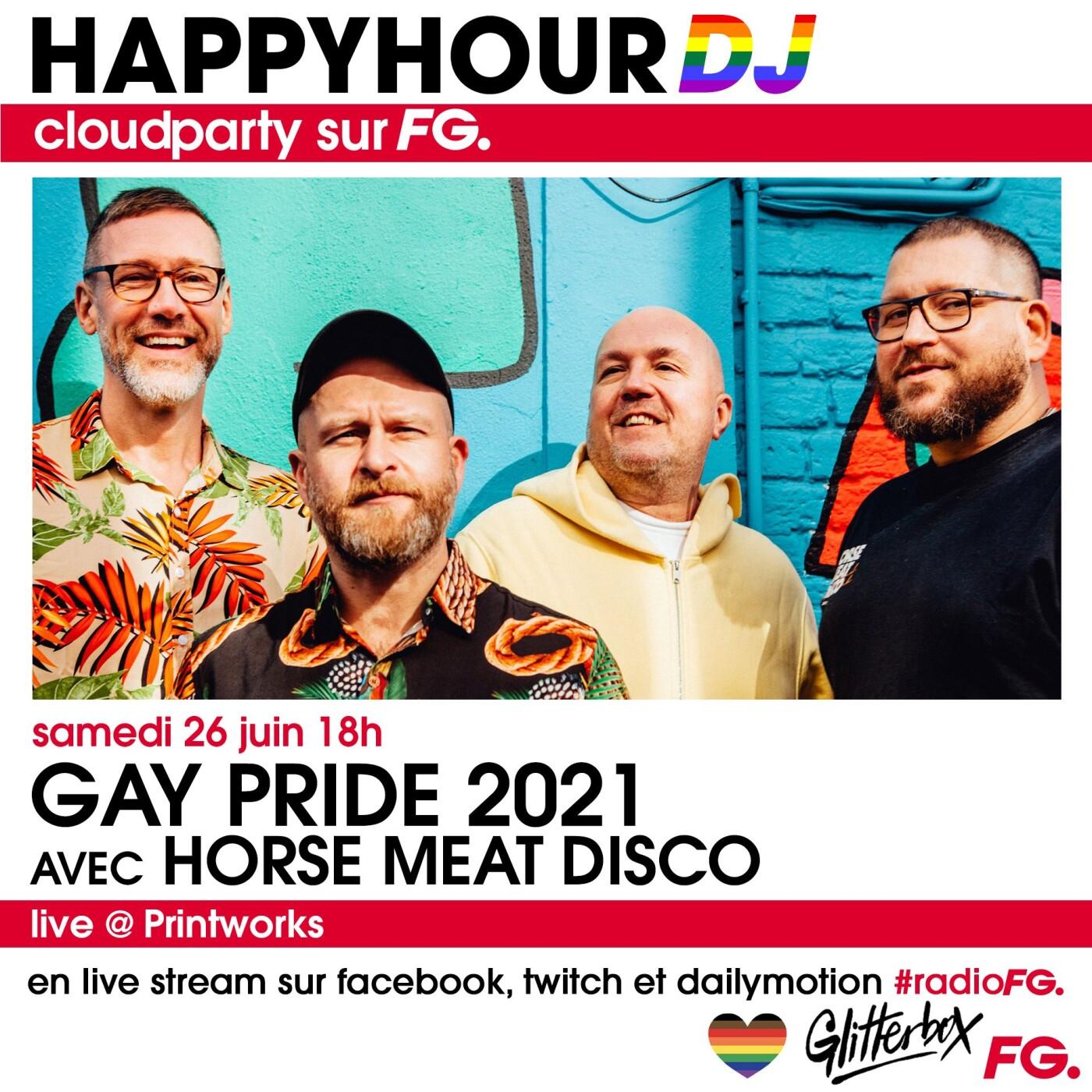HAPPY HOUR DJ : HORSE MEAT DISCO