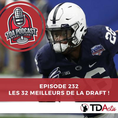 image TDA Podcast n°232 : le Big Board de la Draft !