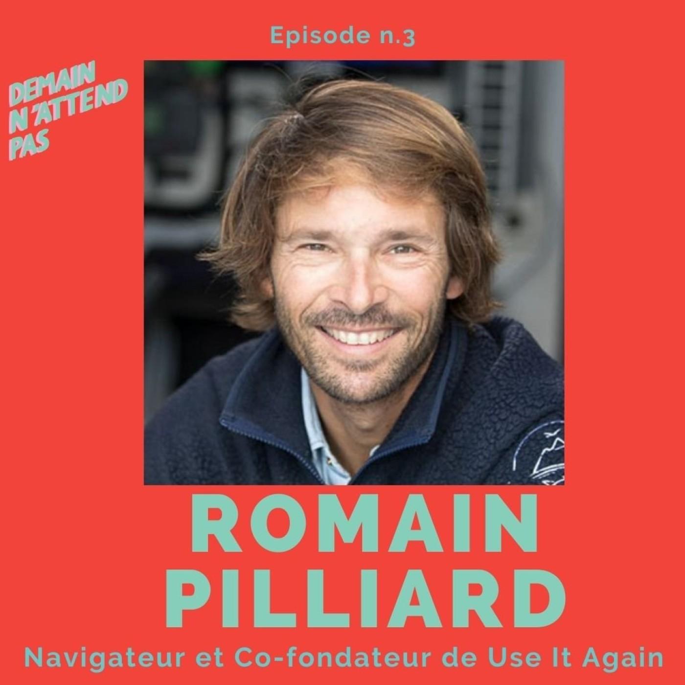 3- Romain Pilliard, navigateur de la Route du Rhum, cofondateur de Use It Again et porte-parole de l'Economie Circulaire