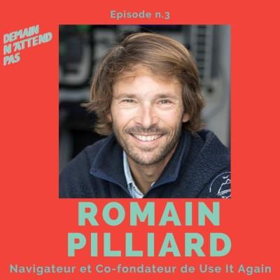 3- Romain Pilliard, navigateur de la Route du Rhum, cofondateur de Use It Again et porte-parole de l'Economie Circulaire cover