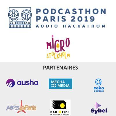 Podcasthon 2019 - les créations du concours en écoute cover