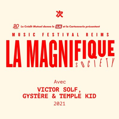 La Magnifique Society : Victor Solf, Gystère, Temple Kid cover