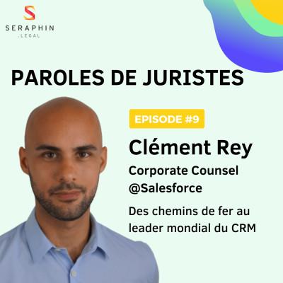 #9 - Clément Rey - Des chemins de fer au leader mondial du CRM cover