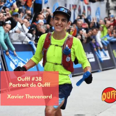 Oufff #38 - Portrait de Oufff - Xavier Thévenard cover