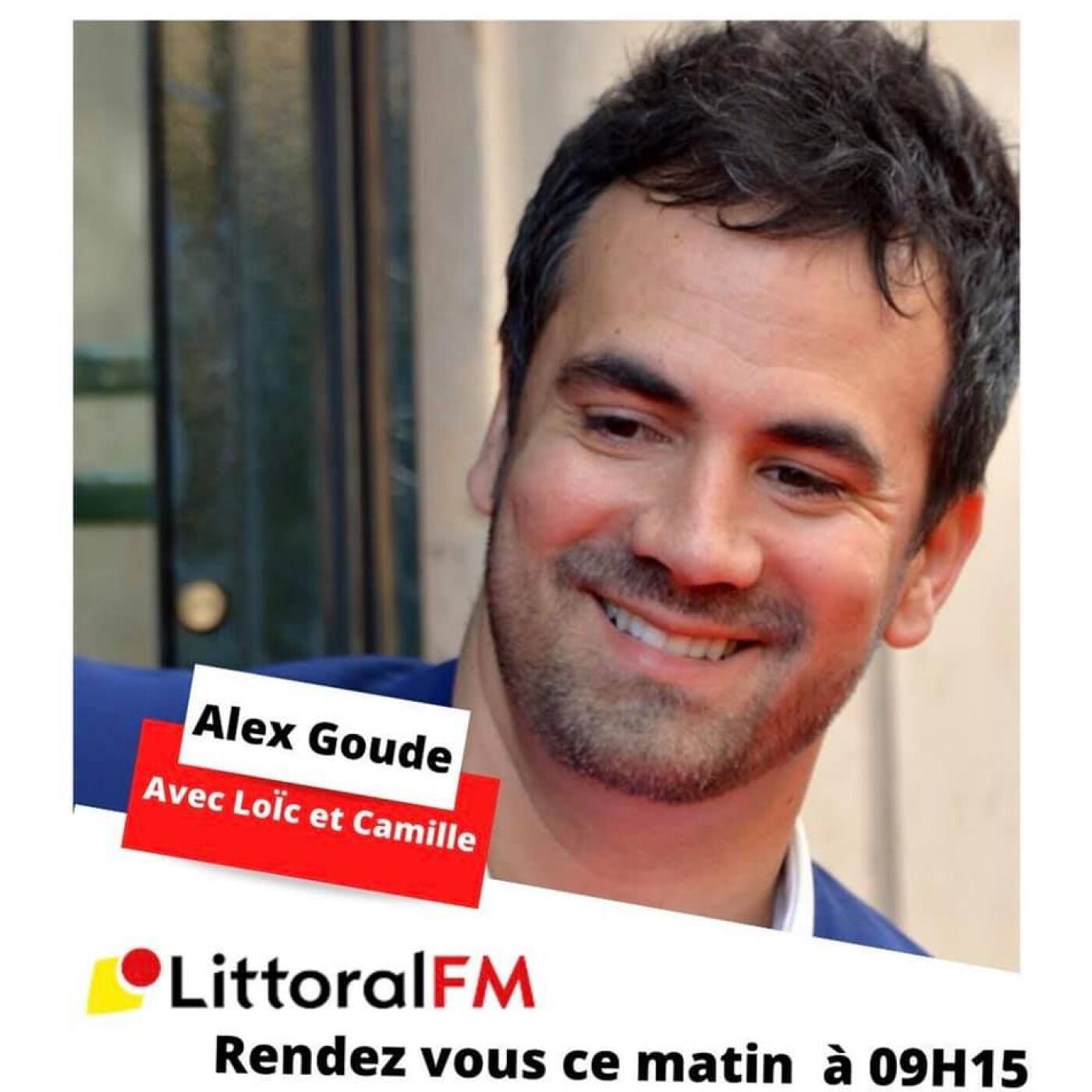 Alex Goude sur Littoral FM