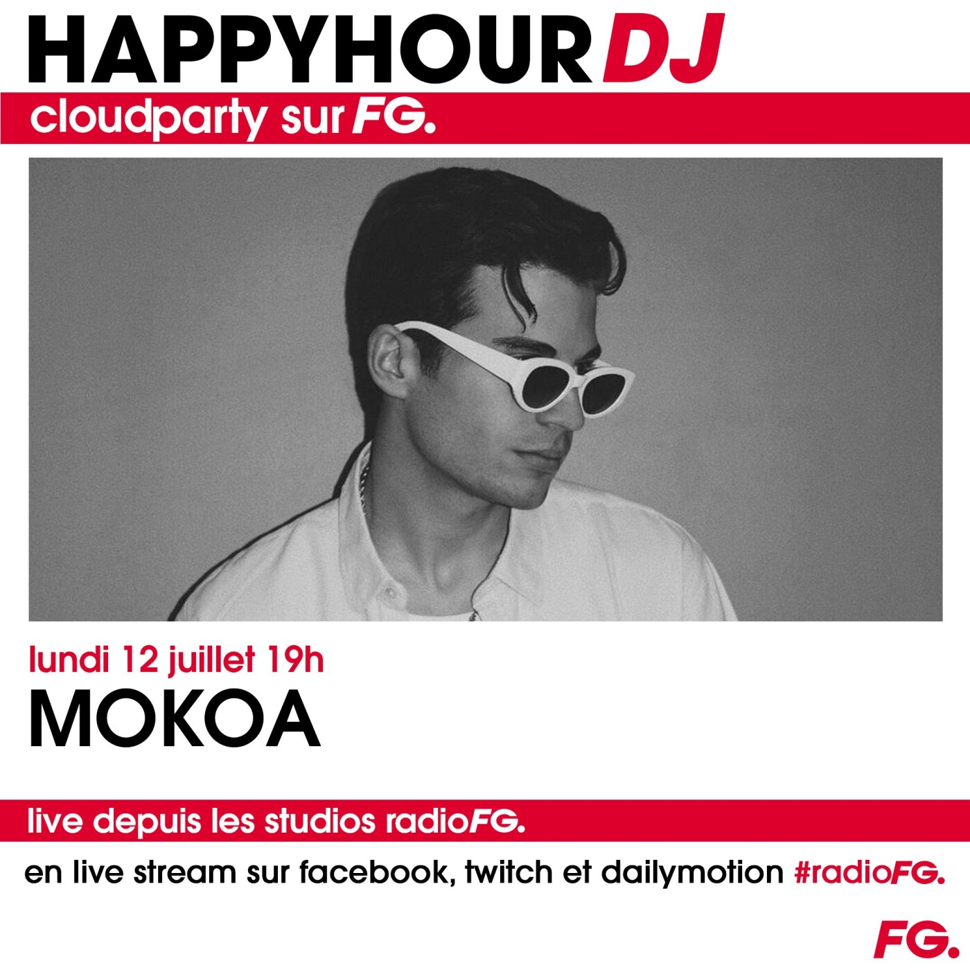 HAPPY HOUR DJ : MOKOA