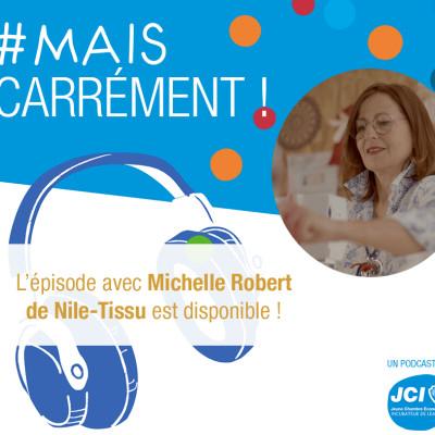 #8. Michelle Robert - Fondatrice de NILE® cover