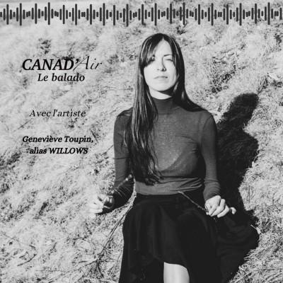 Des racines et du folk - Rencontre avec l'artiste Geneviève Toupin, alias Willows cover