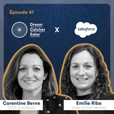 #47 Salesforce : Les 3 clés pour closer les directions marketing avec Emilie Ribo cover