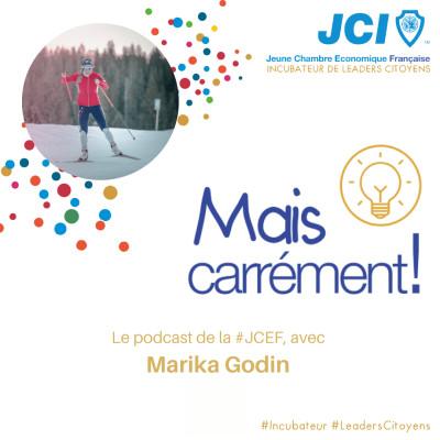 #05. Marie Caroline Godin - Ancienne sportive de haut niveau et déléguée CESER cover