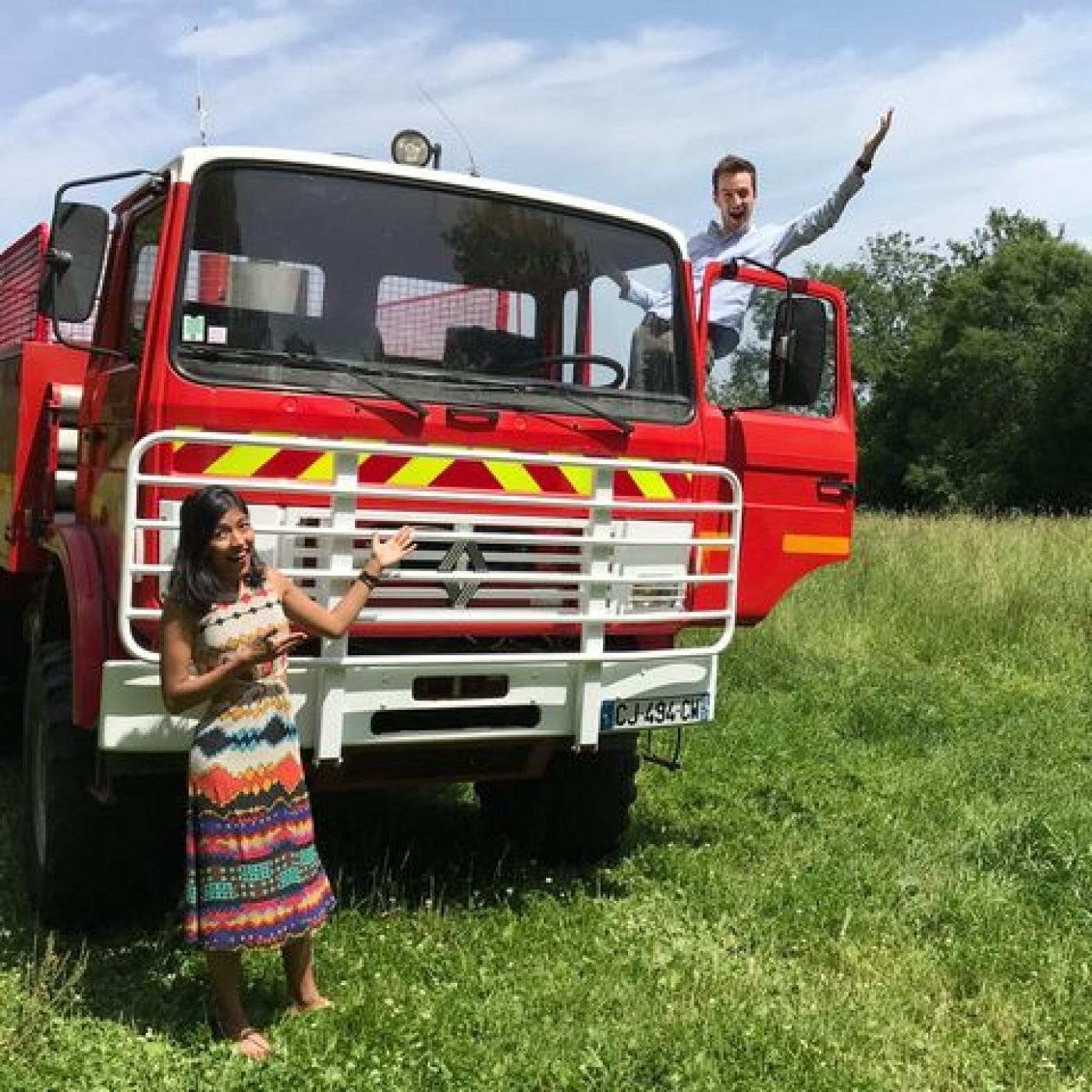 0305 Globe Trotter Justin - Le camion pompier transformé
