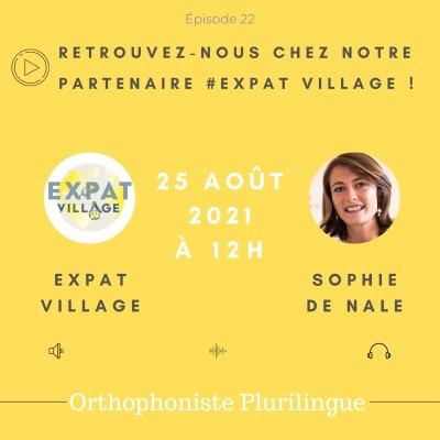 Sophie, Expat-Village, donne des conseils pour la rentrée des classes - 25 08 2021 - StereoChic Radio cover