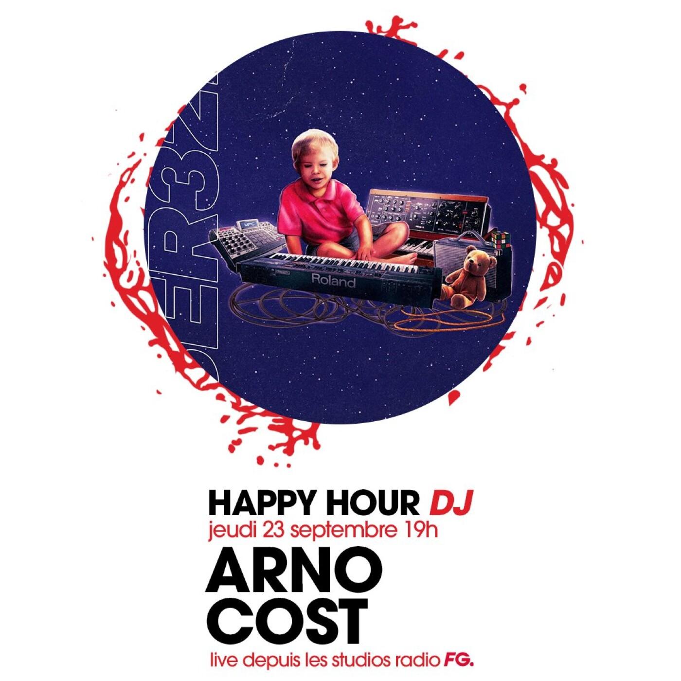 HAPPY HOUR DJ : ARNO COST