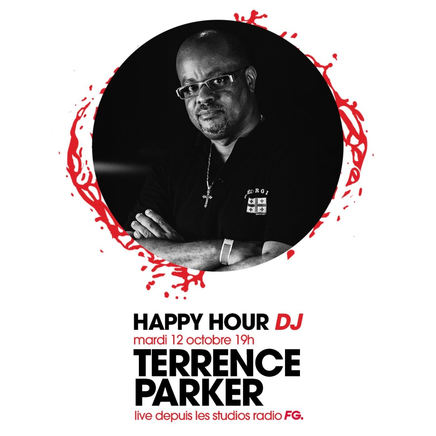 HAPPY HOUR DJ : TERRENCE PARKER