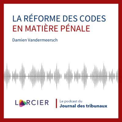 #08 - La réforme des Codes en matière pénale cover
