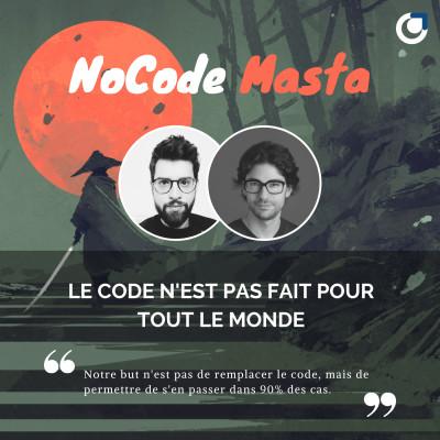 NoCode Masta : Le No-Code pour changer le monde avec Emmanuel Straschnov cover