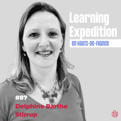 #87 - Delphine Barthe /// Exploiter une faille du système, ferait rire Coluche - Stirrup cover