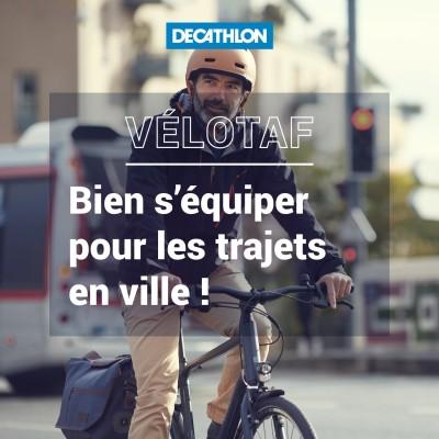# 40 Vélotaf - Bien s'équiper pour les trajets en ville ! cover