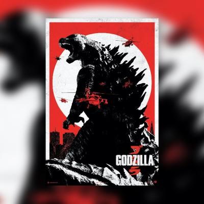 #77 Godzilla - Nicolas Deneschau & Thomas Giorgetti cover