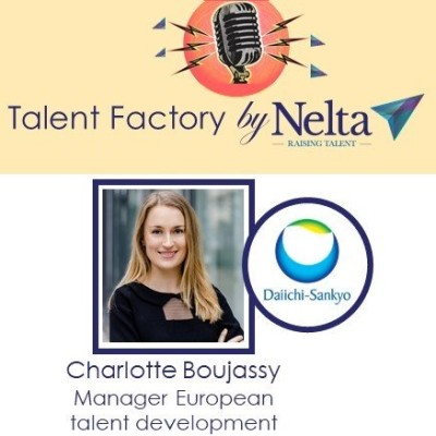E16 - Talent Factory by Nelta - Charlotte Boujassy - Daiichy Sankyo cover