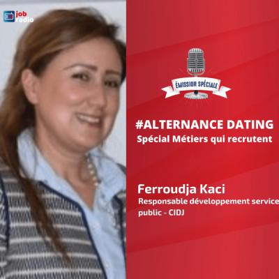 Alternance Dating, spécial métiers qui recrutent cover