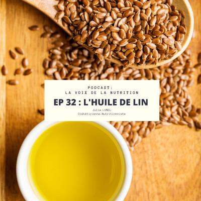 L'huile de Lin cover