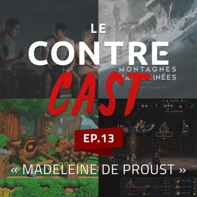LeContreCast #13 - Madeleine de Proust cover