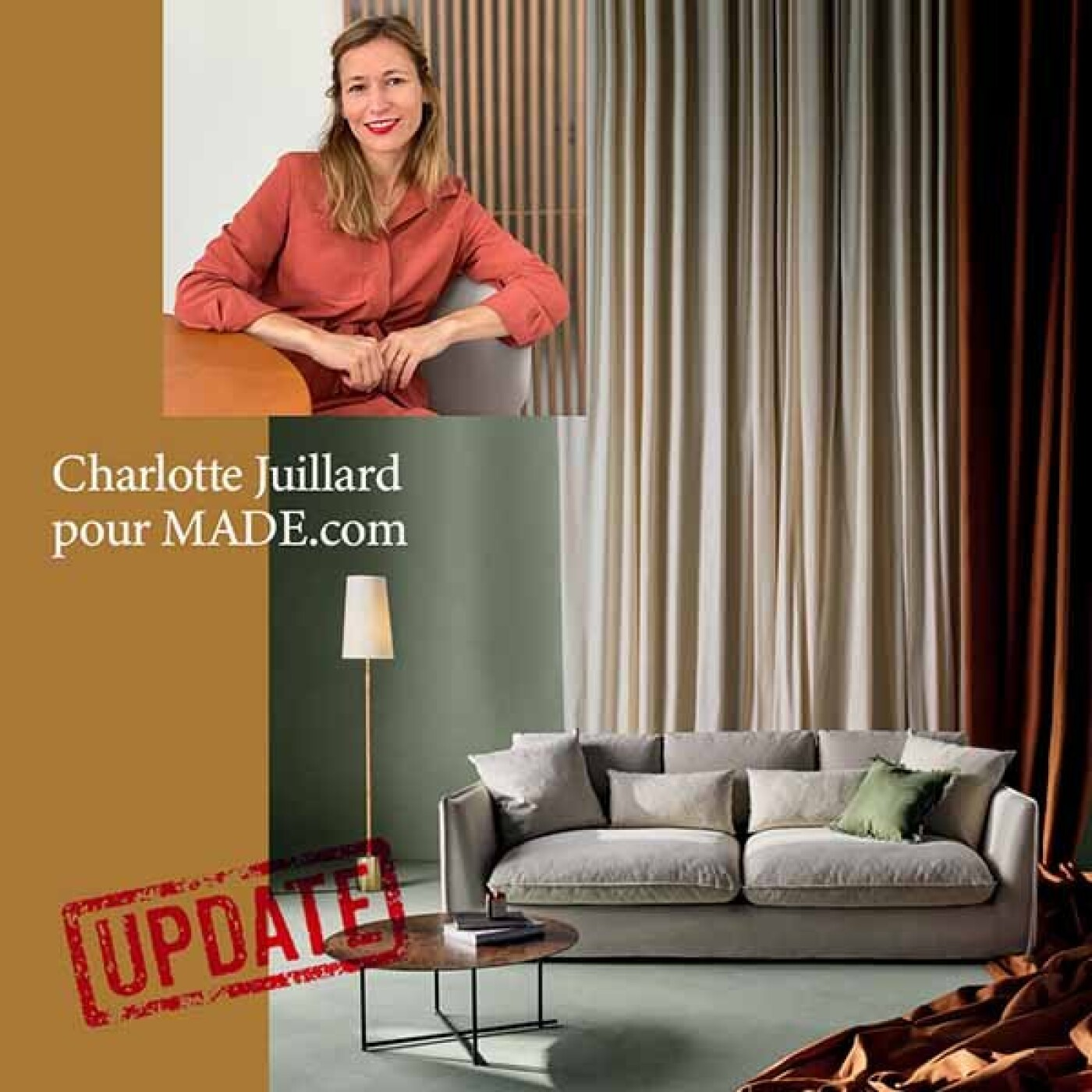 UPDATE part1 : la designer Charlotte Juillard raconte sa collab avec Made.com