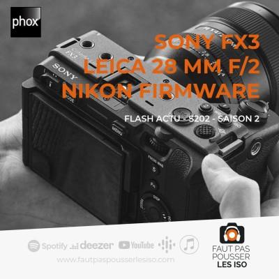 FLASH ACTU - S202 - Sony, Leica et Nikon cover