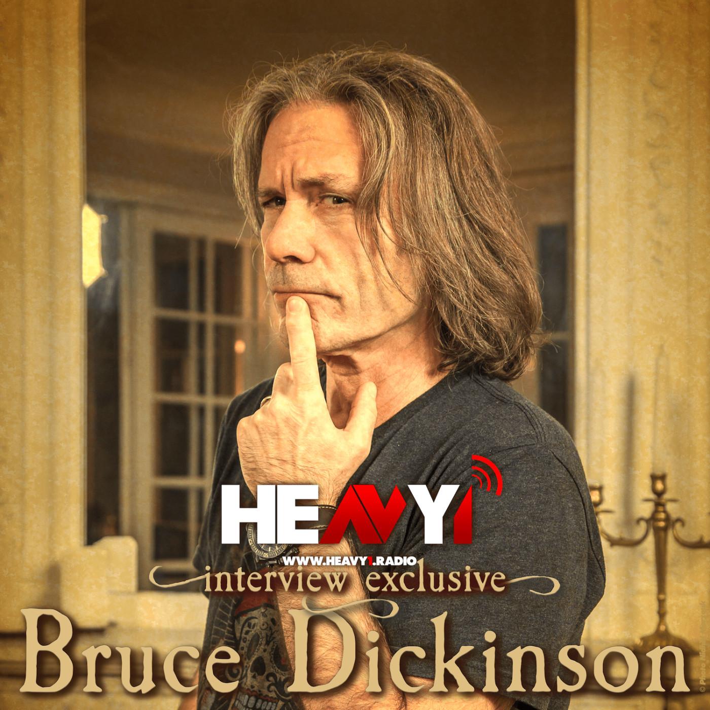 Une heure avec... Bruce Dickinson