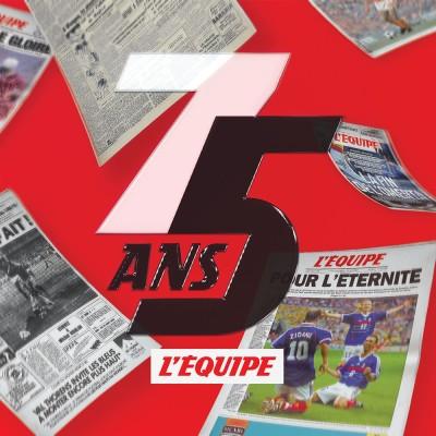Image of the show Les 75 ans de L'Équipe