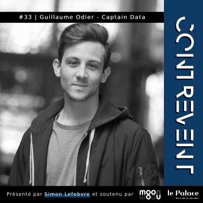 #33 Captain Data - Guillaume Odier - Arrêter le bullshit, se méfier du No Code, et miser sur l'équipe ! - Paris & Nantes cover