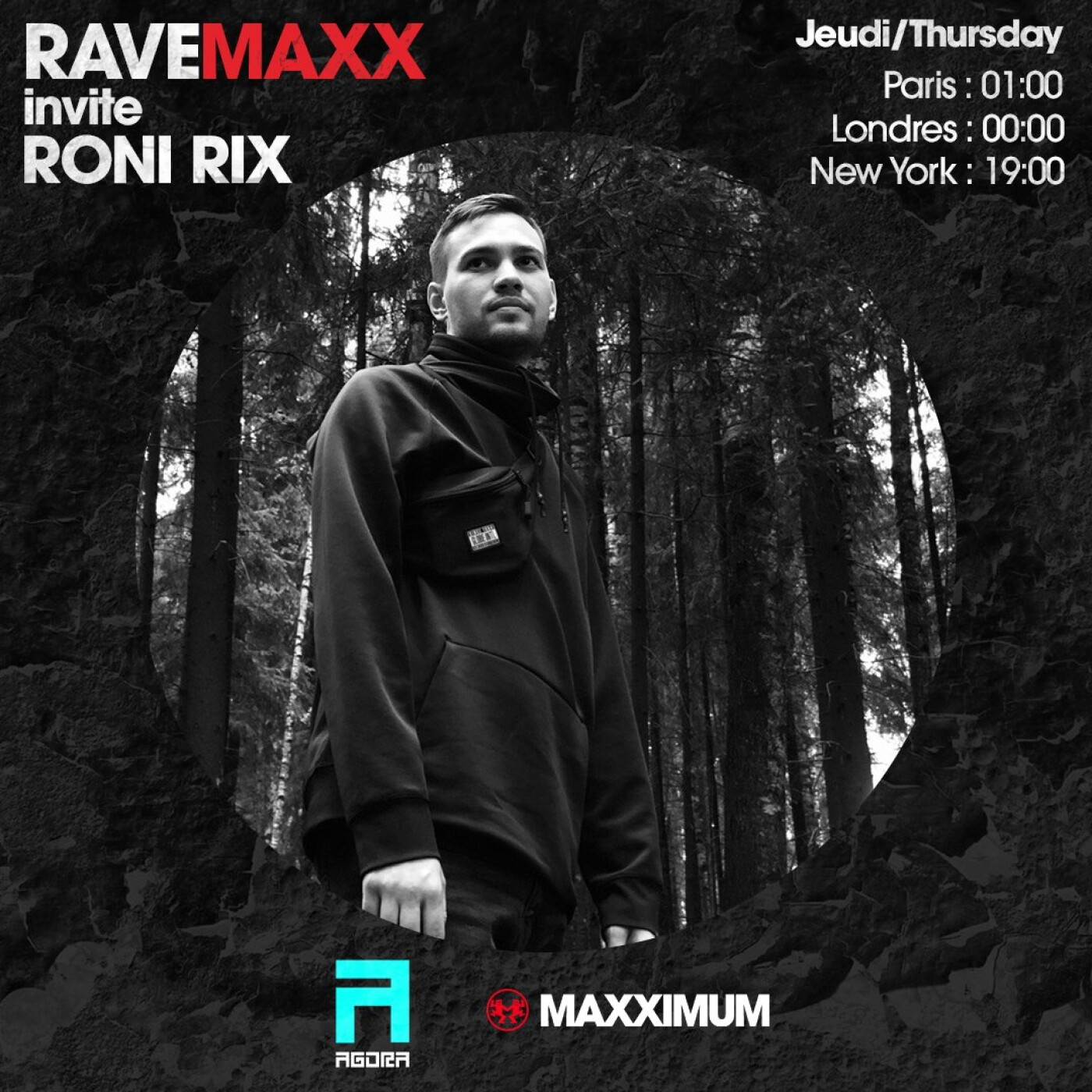 RAVEMAXX : AGORA RECORDS AVEC RONI RIX