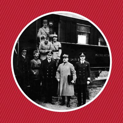1918 : La signature de l'armistice dans un wagon-restaurant cover