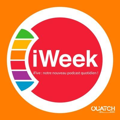 iWeek (la semaine Apple) 38 : iFive, notre nouveau podcast quotidien, arrive lundi ! cover