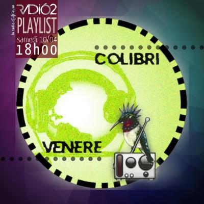 COLIBRI VENERE - La playlist des continents #2 cover