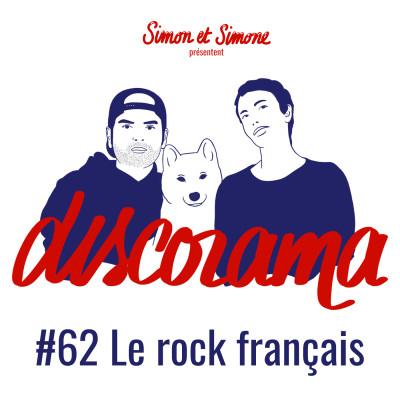 Discorama #62 - Le rock français cover