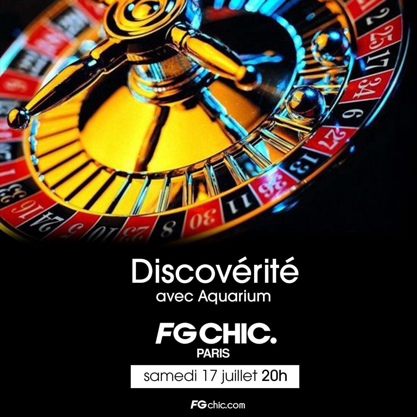 FG CHIC MIX : DISCOVERITE BY L'AQUARIUM