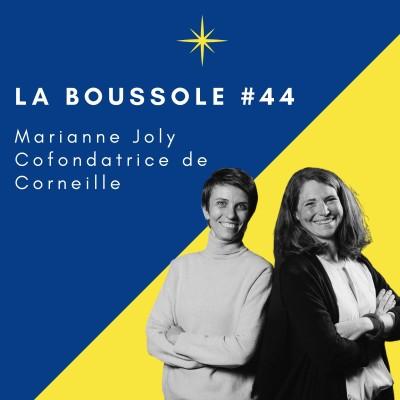 #44_Marianne Joly, Cofondatrice de Corneille, la passion de la lecture cover