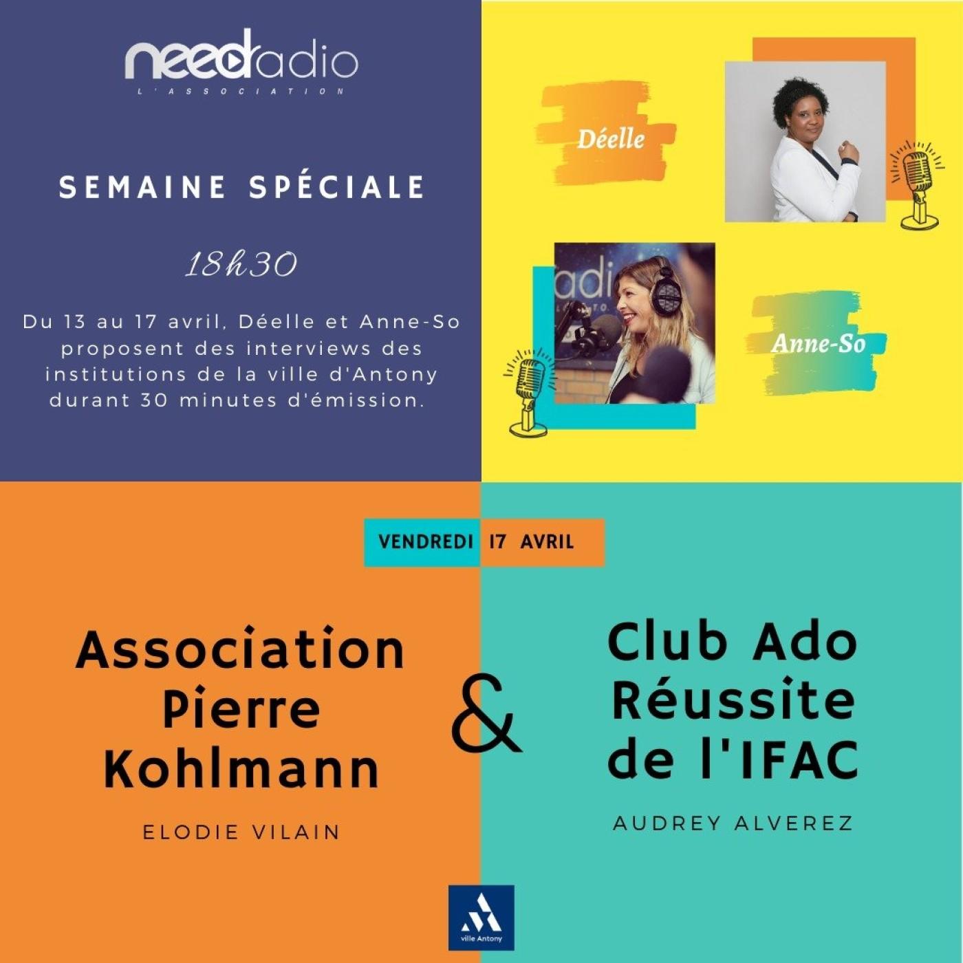 #NRVDLP spéciale confinement - L'IFAC et l'association Pierre Kohlmann (17/04/20)