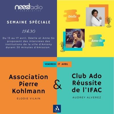 #NRVDLP spéciale confinement - L'IFAC et l'association Pierre Kohlmann cover