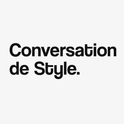 Conversation de Style. cover