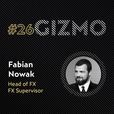 #26 - Fabian Nowak - Head of FX - FX Supervisor at - The Yard VFX cover