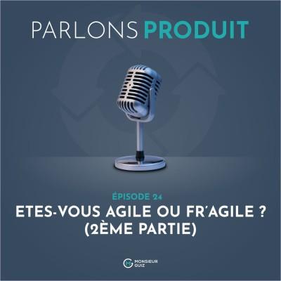 Episode 24 - Votre équipe, Agile ou Fr'agile ? (2ème partie) cover