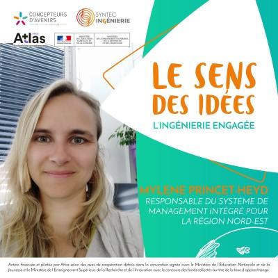DÉVELOPPEMENT DURABLE - Mylène Princet-Heyd, responsable du système de management intégré pour la région Nord-Est cover