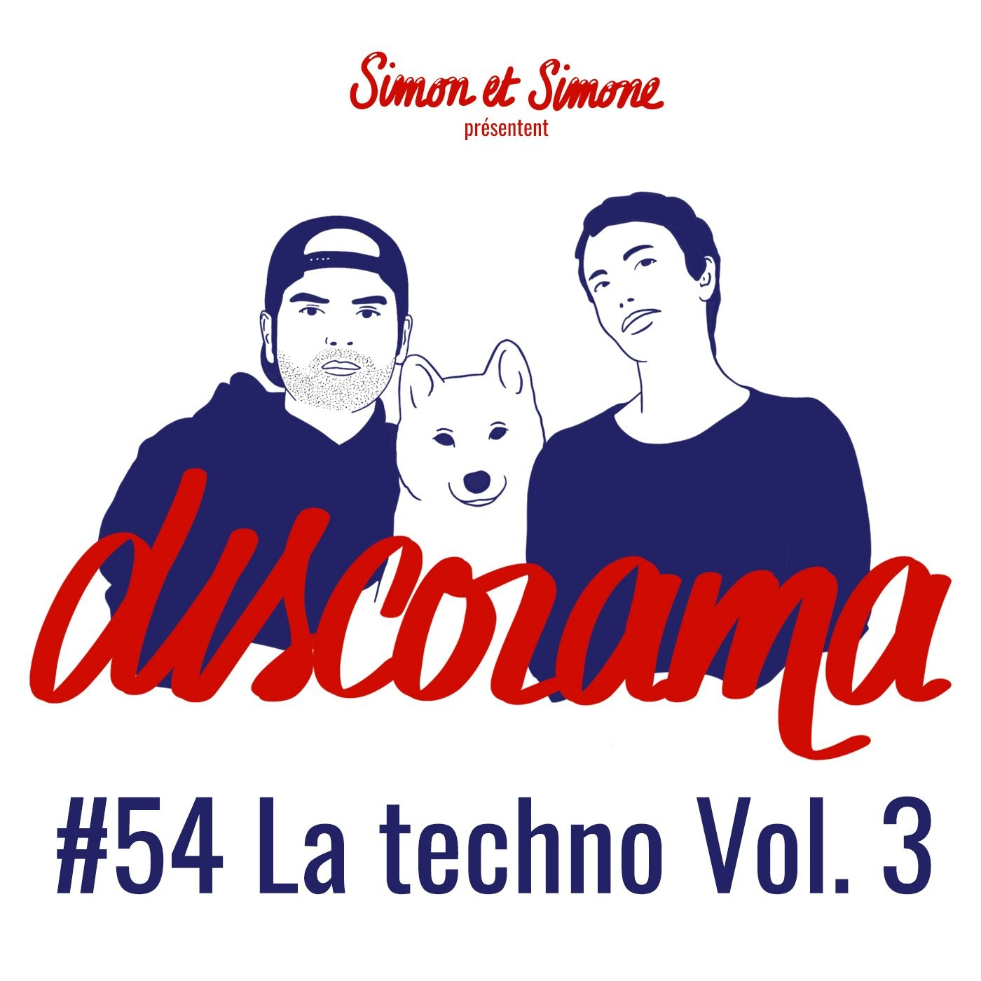 Discorama #54 - La techno Vol. 3 (feat. Rheyï)